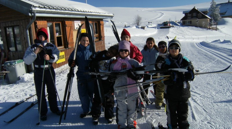 neige, ski, enfants