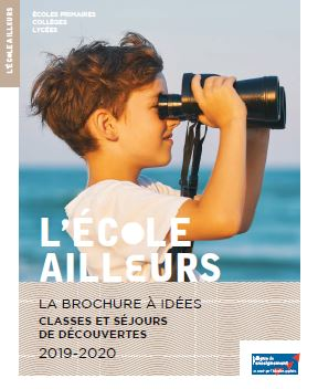 Jaquette Brochure CLASSE DE DECOUVERTES LIGUE 2019-2020